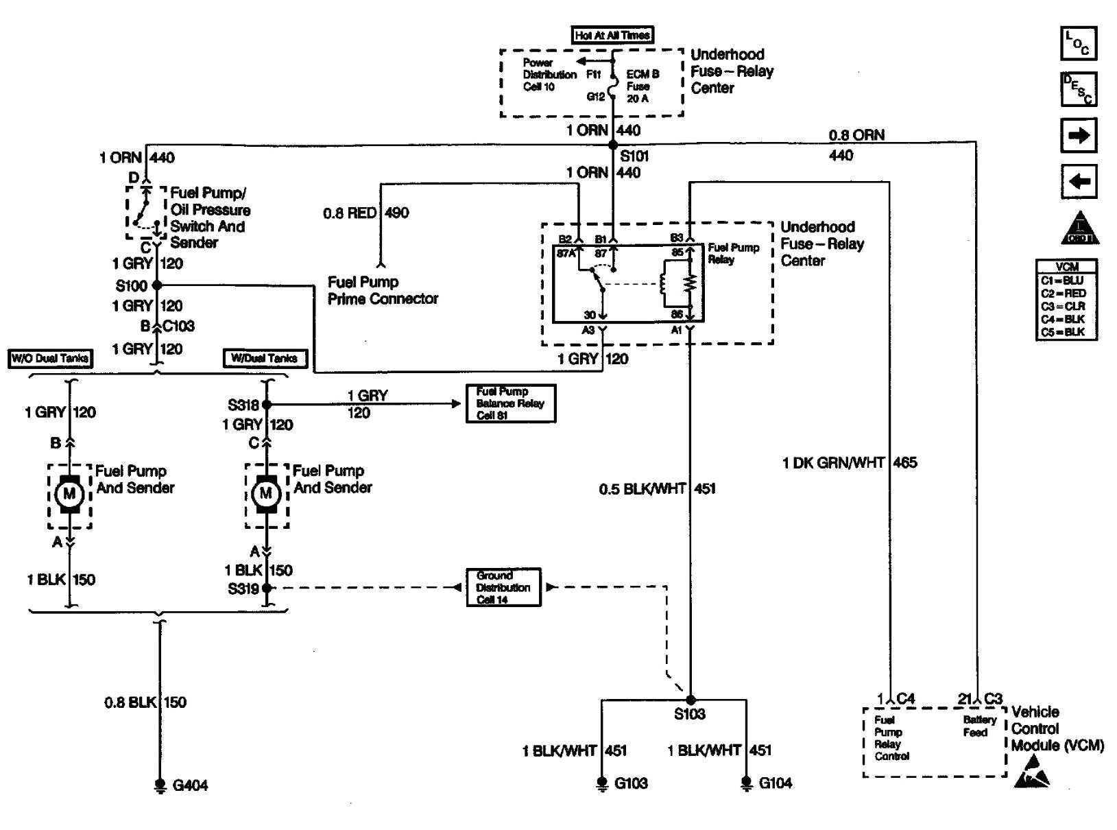 1998 chevy silverado fuel pump wiring diagram - 1998 k1500 wiring diagram  automotive block diagram •