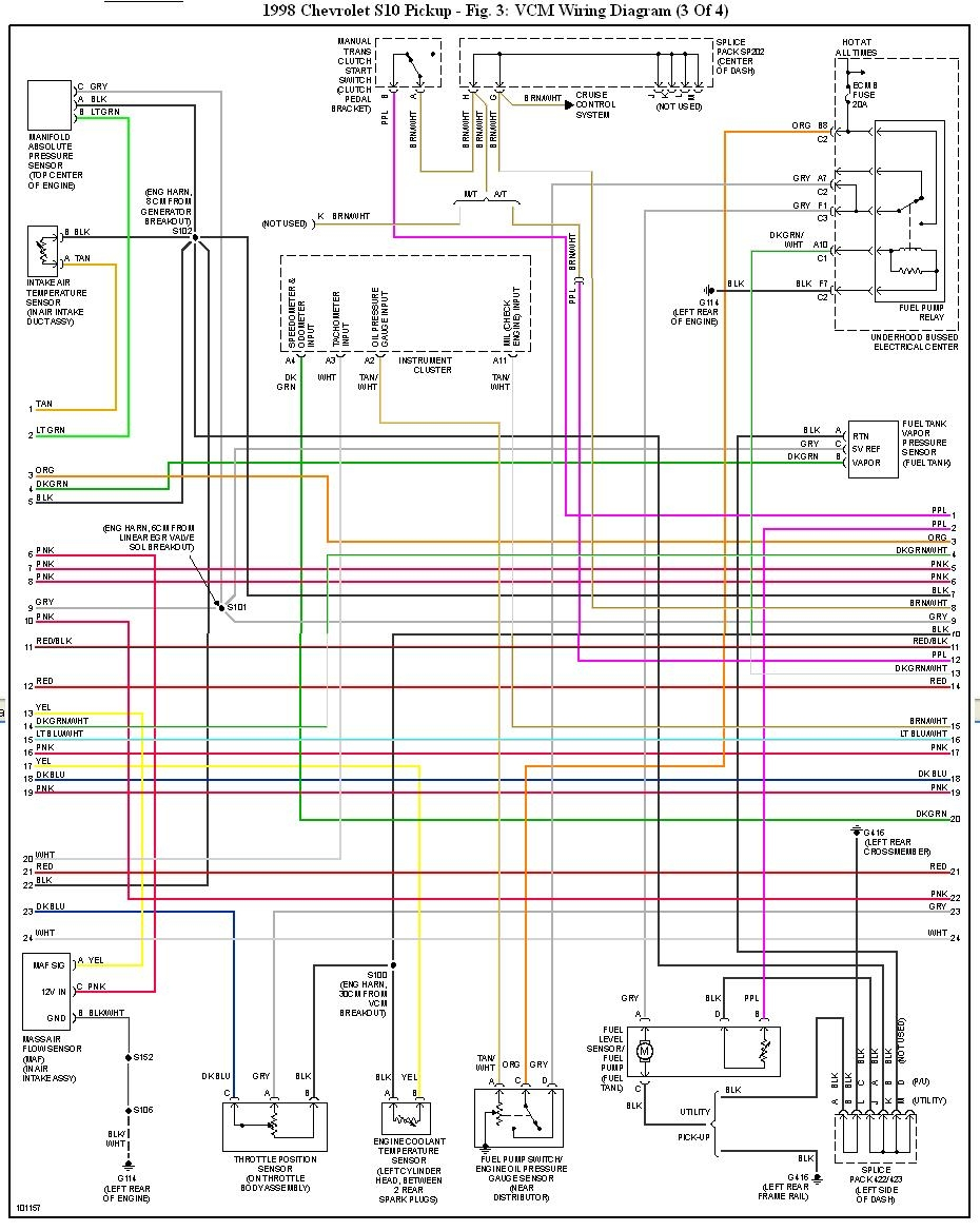 1998 Chevy Silverado Fuel Pump Wiring Diagram | Free ...
