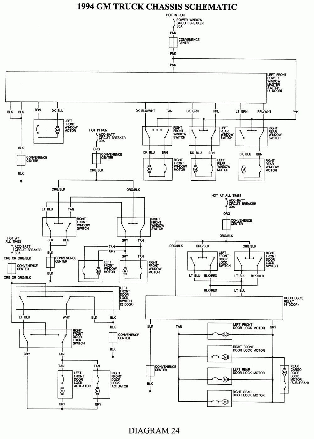 1998 Chevy Silverado Wiring Diagram | Free Wiring Diagram