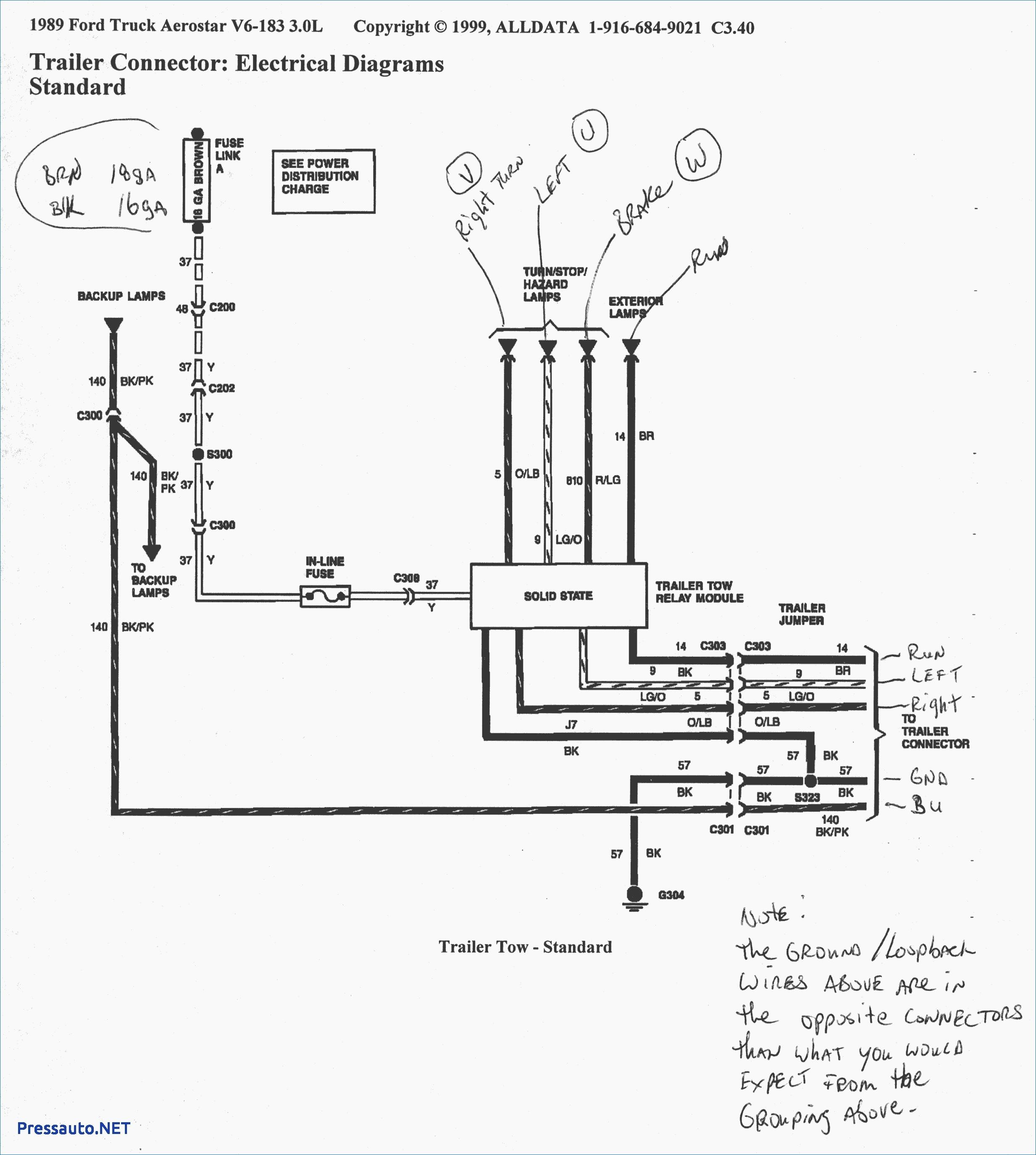 1998 Ford F150 Trailer Wiring Diagram