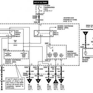 1998 ford F150 Wiring Diagram - Power Distribution Box with Generic Electronic Module and One Truck Rh Videojourneysrentals Painless Wiring Diagrams ford Expedition Radio Diagram 18n