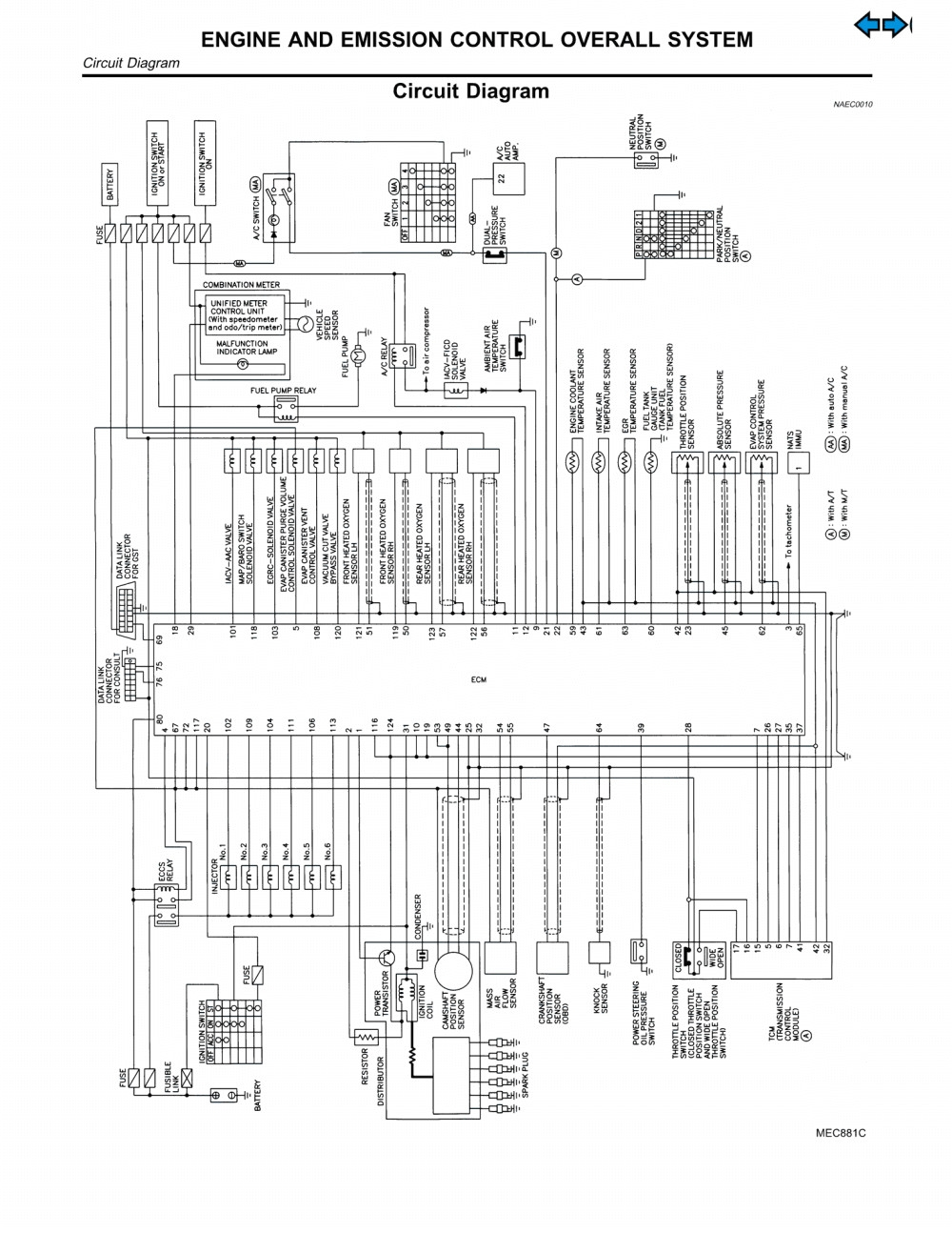 1998 nissan altima wiring diagram