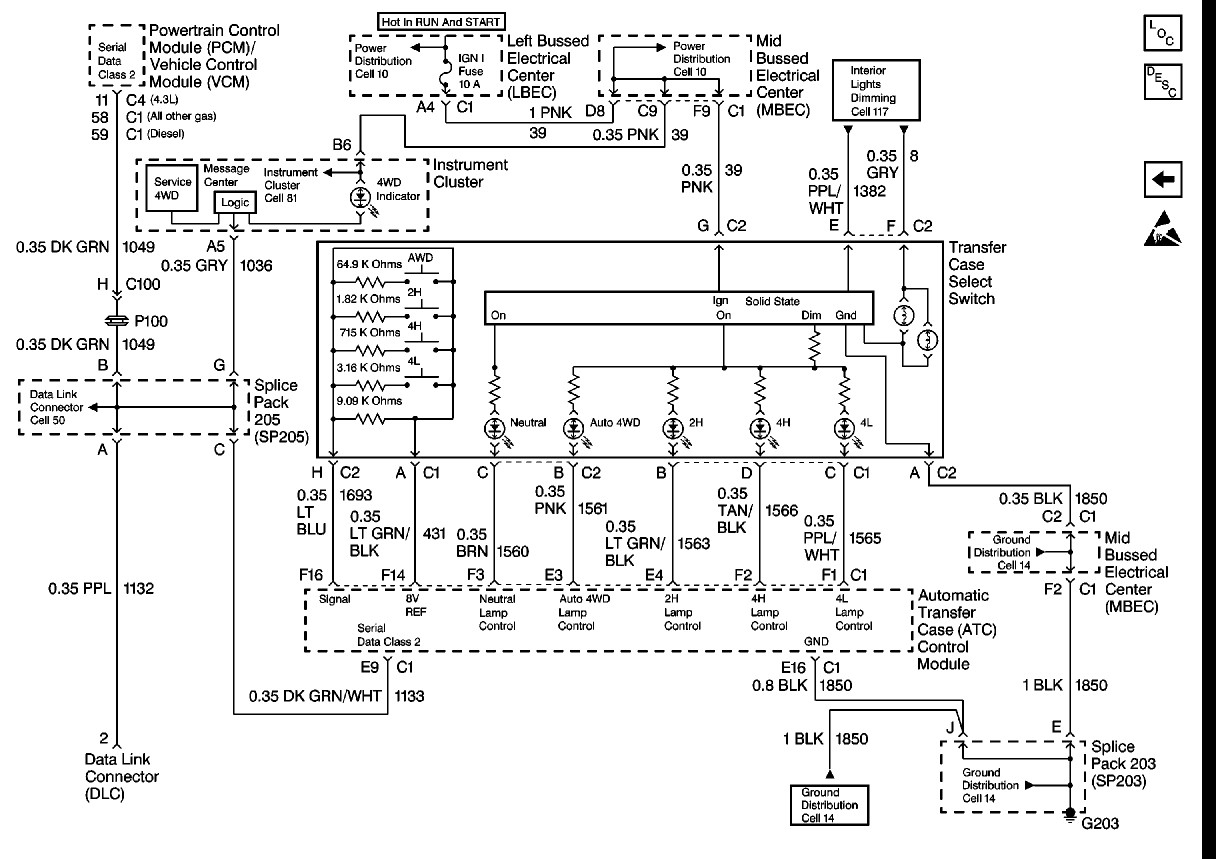 1999 Chevy Suburban Trailer Wiring - Cars Wiring Diagram Blog