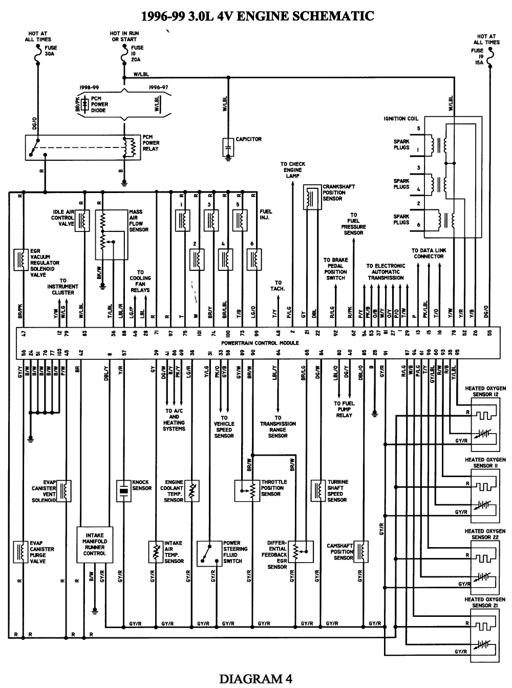 1999 ford taurus wiring diagram Download-1999 ford taurus wiring diagram Collection 1996 Ford Taurus Wiring Diagram 15 s 4-o