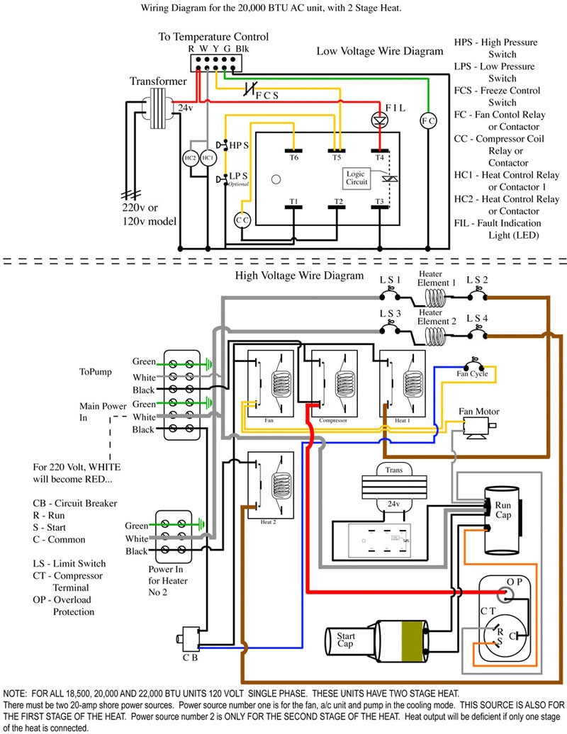 2 stage heat pump wiring diagram Download-Trane Heat Pump Thermostat Wiring Diagram For Two Stage Heating 17-b