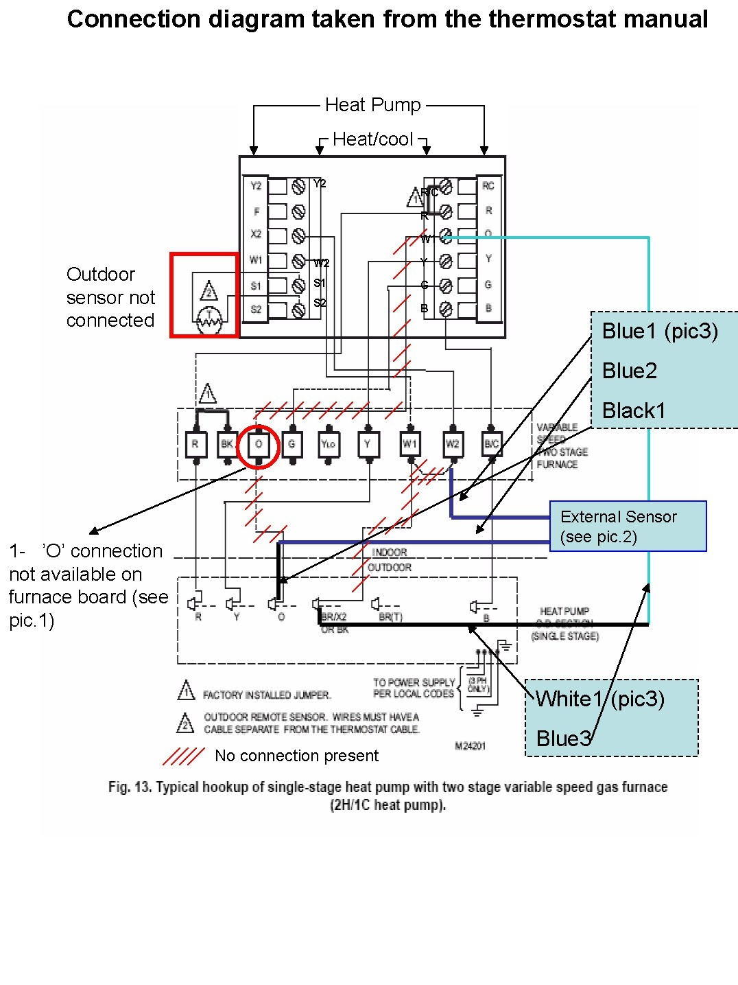 Diagram Heat Pump Thermostat Wiring Diagram