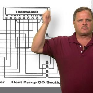 2 Stage Heat Pump Wiring Diagram - Wiring Of A Two Stage Heat Pump 16r