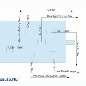 2 Way Wiring Diagram - 2 Way Dimmer Switch Wiring Diagram Beautiful Headlight Dimmer Switch Wiring Diagram New Headlight Dimmer Switch 17s