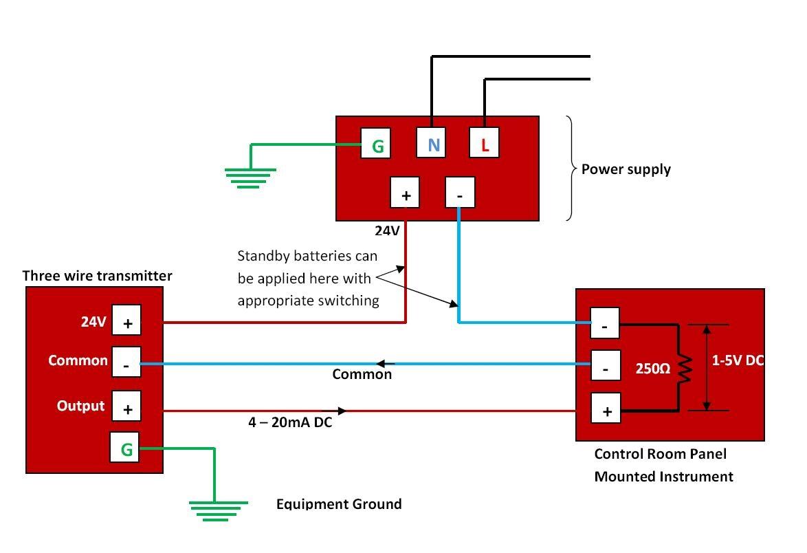 2 Wire Pressure Transducer Wiring Diagram