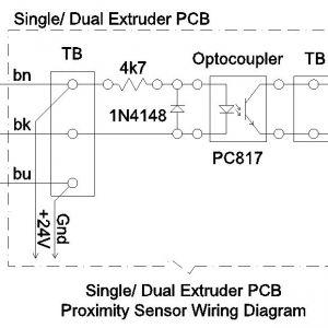 2 Wire Proximity Sensor Wiring Diagram - Single Dual Extruder Pcb Proximity Sensor Wiring Diagram Jpg 4s