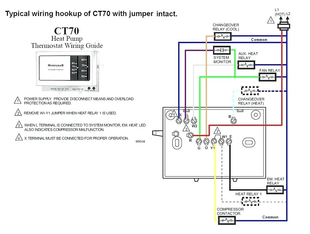 2 Wire Thermostat Wiring Diagram Heat Only Free For Fan