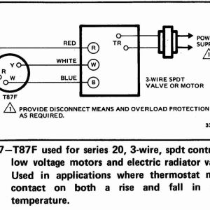 2 Wire thermostat Wiring Diagram Heat Only - Honeywell thermostat Wiring Diagram 3 Wire Honeywell Wifi thermostat Wiring Diagram Lovely New Honeywell thermostat 19i