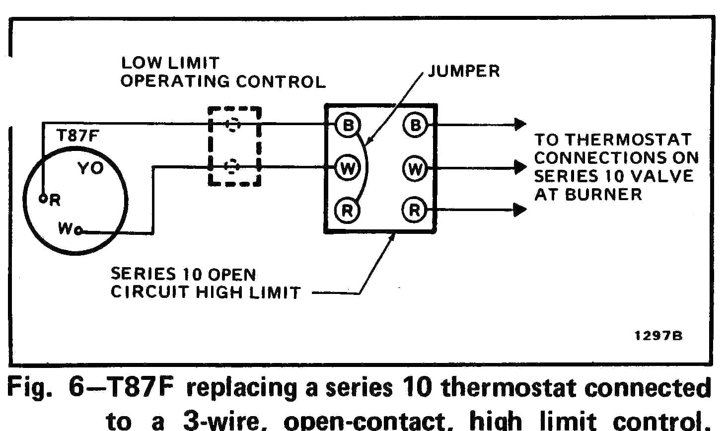 2 Wire thermostat Wiring Diagram Heat Only | Free Wiring ...