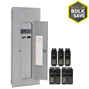 200 Amp Square D Panel Wiring Diagram - Square D Homeline 80 Circuit 40 Space 200 Amp Main Breaker Plug 18i