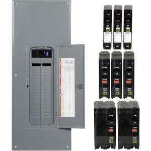 200 Amp Square D Panel Wiring Diagram - Square D Qo 200 Amp Main Breaker 42 Space 42 Circuit Indoor Plug 15p