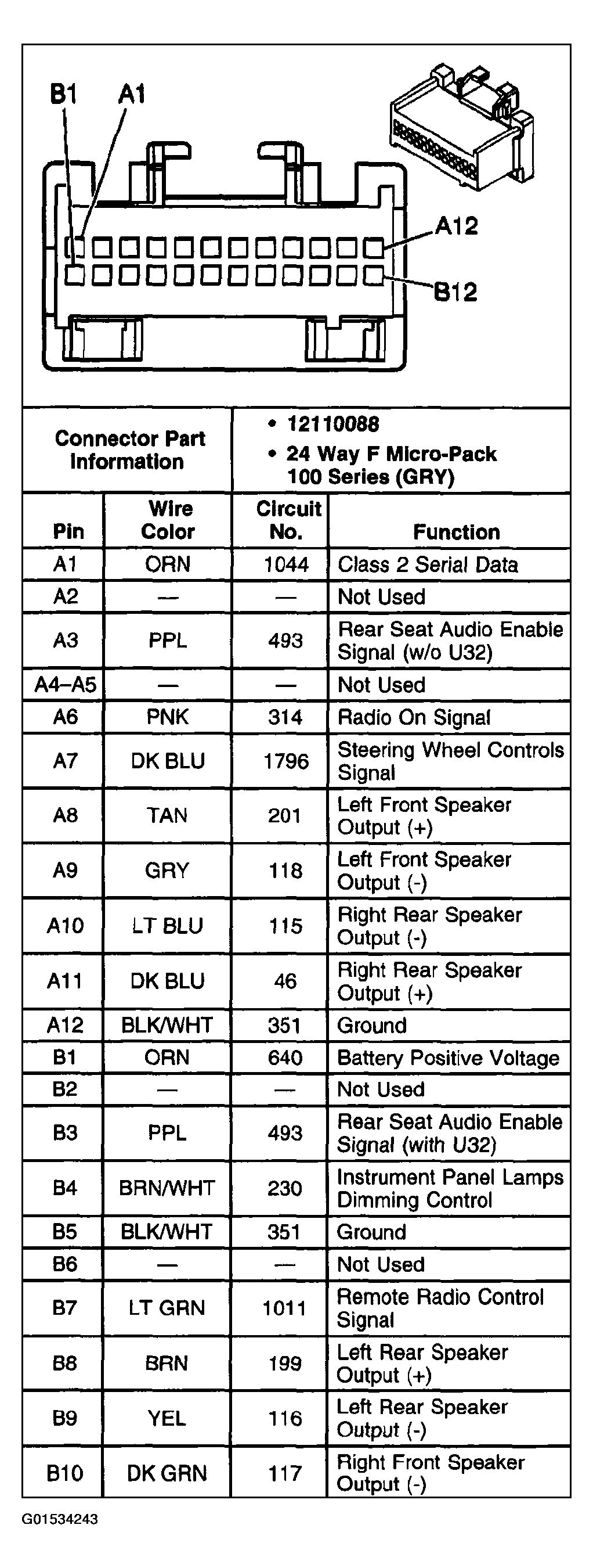 2000 chevy cavalier radio wiring diagram Collection-2000 Chevy Cavalier Radio Wiring Diagram Gallery 2001 Chevy Cavalier Radio Wiring Diagram Harness New 14-k