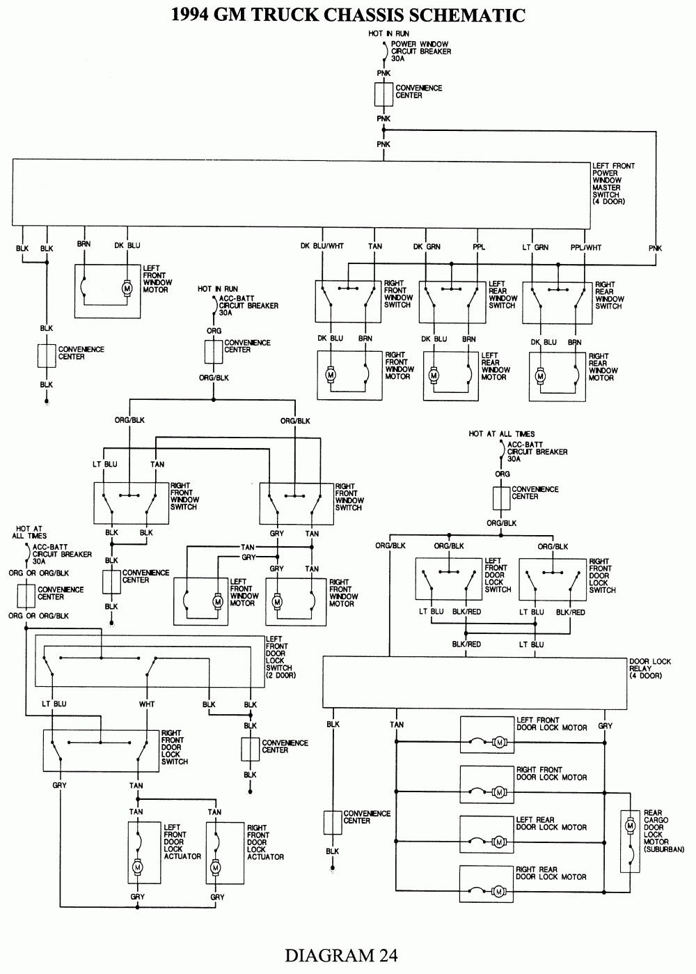 2000 Chevy Silverado Wiring Diagram