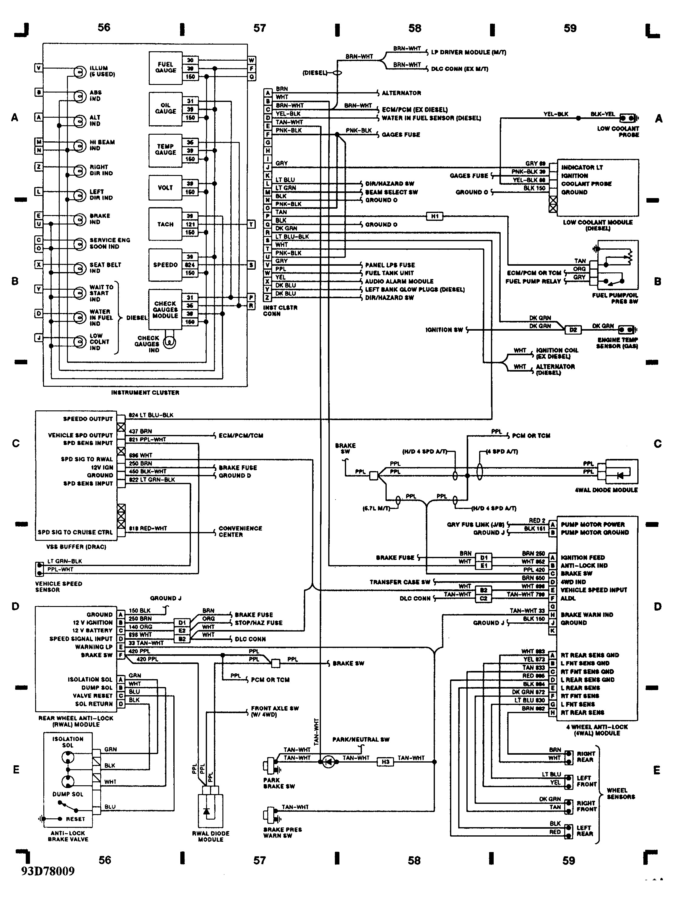 1995 Chevy Silverado 5 7 Wiring Diagram Diagram Base