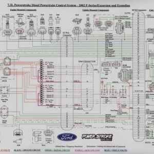 2000 ford Excursion Wiring Diagram - 2001 ford F350 Wiring Schematic Wire Center U2022 Rh Daniablub Co 12t