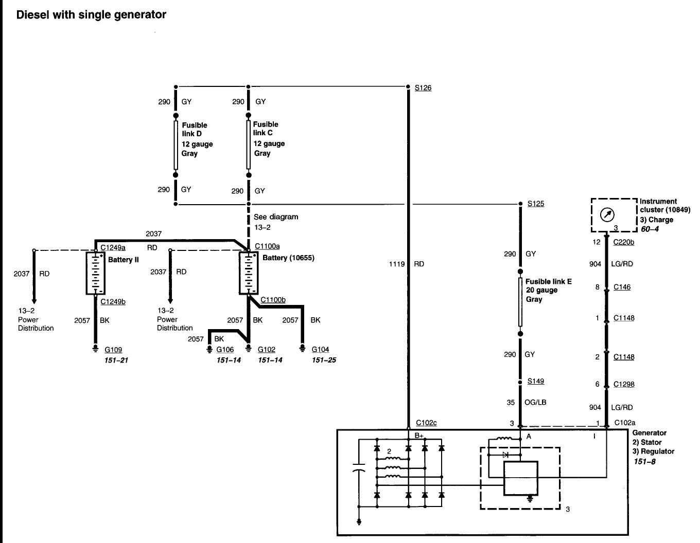 2000 Ford Excursion Wiring Diagram