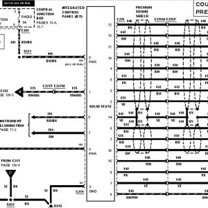2000 ford F150 Radio Wiring Diagram - 2000 ford Contour Radio Wiring Diag 4s