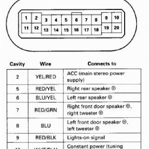 2000 Honda Civic Radio Wiring Diagram - 1995 Honda Civic Radio Wiring Diagram Sevimliler and 800—1833 4f