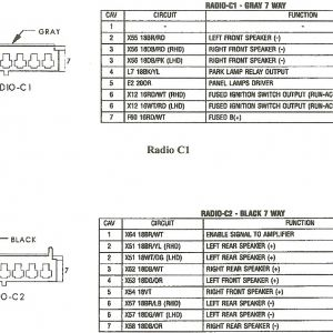 95 Jeep Wrangler Radio Wiring Diagram - Wiring Diagram ...