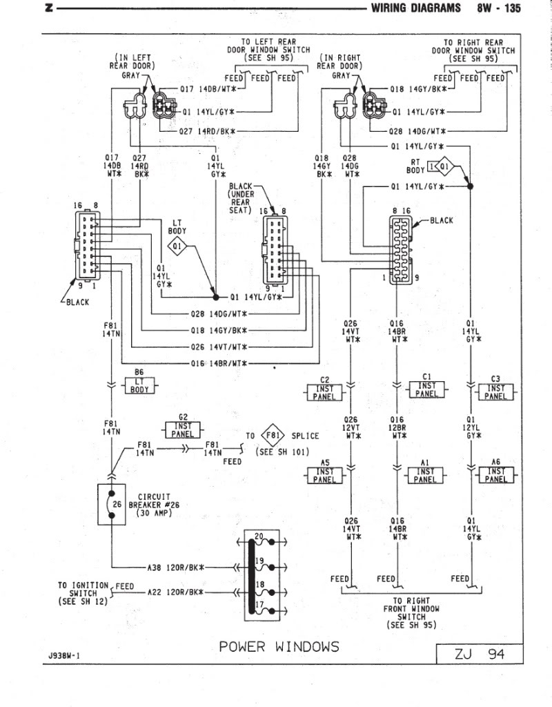 2000 Jeep Wrangler Wiring Diagram | Free Wiring Diagram