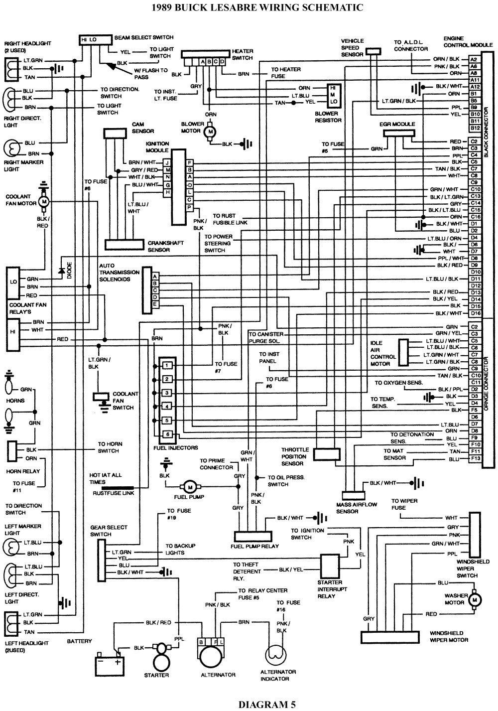 Diagram Buick Car Radio Stereo Audio Wiring Diagram Autoradio