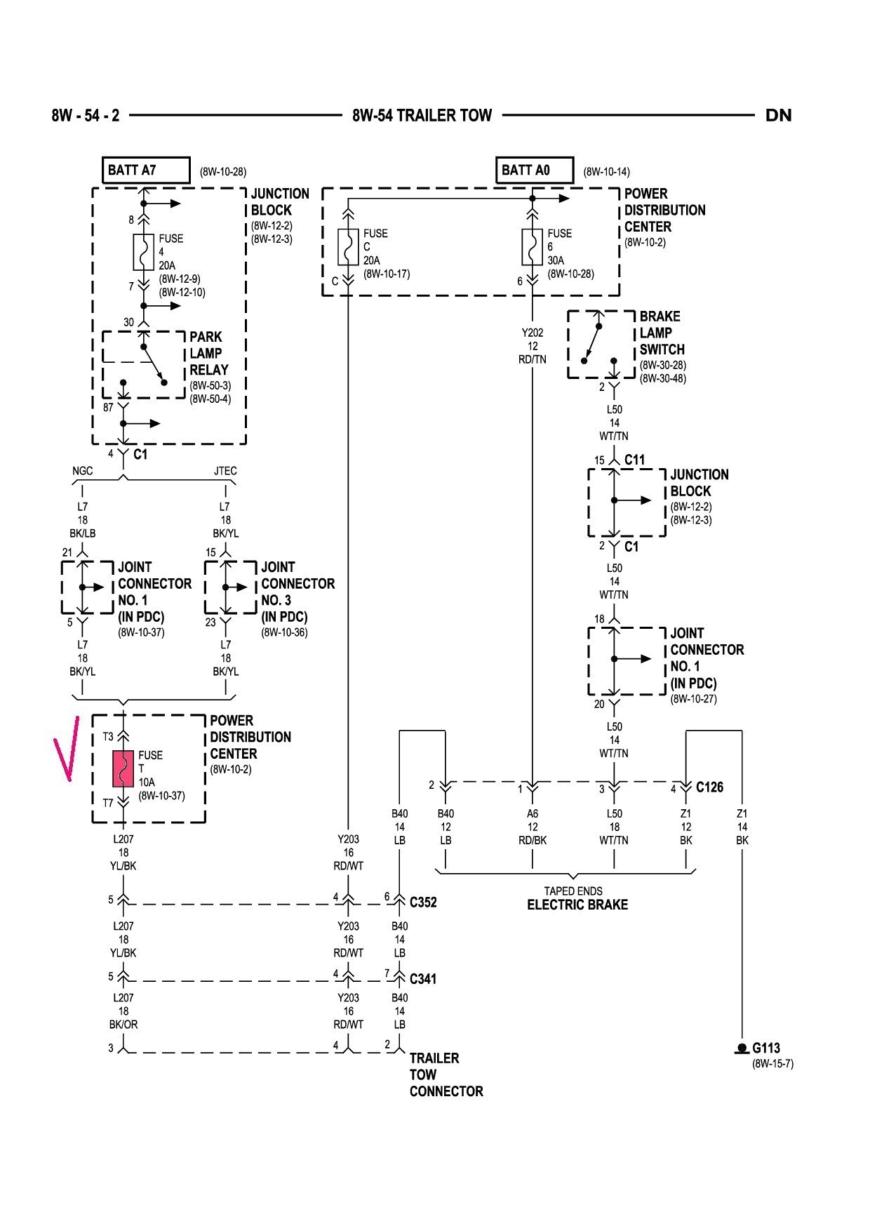 2001 Dodge 2500 Trailer Wiring Diagram - Cars Wiring ...