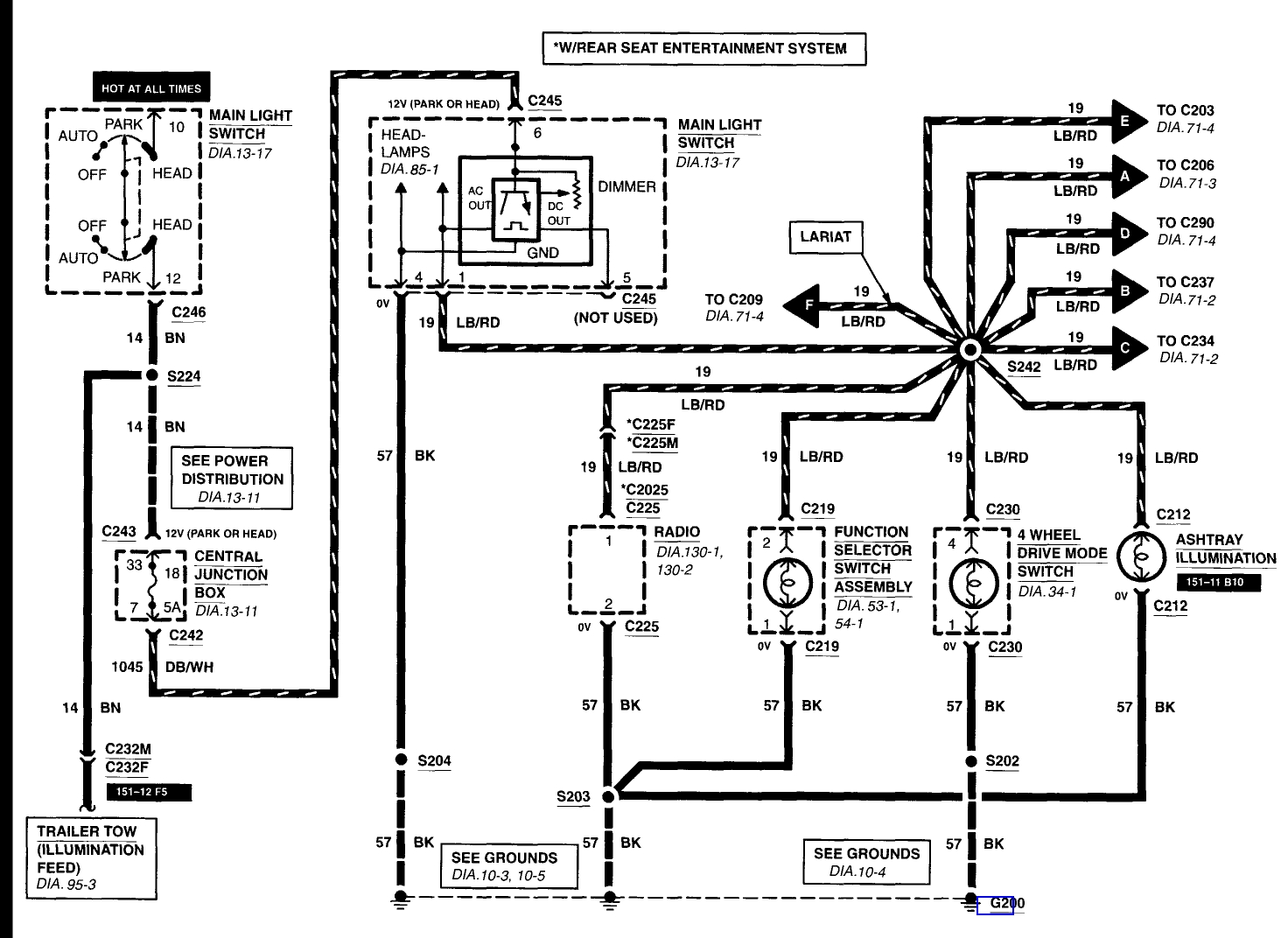 2001 Ford Expedition Wiring Diagram