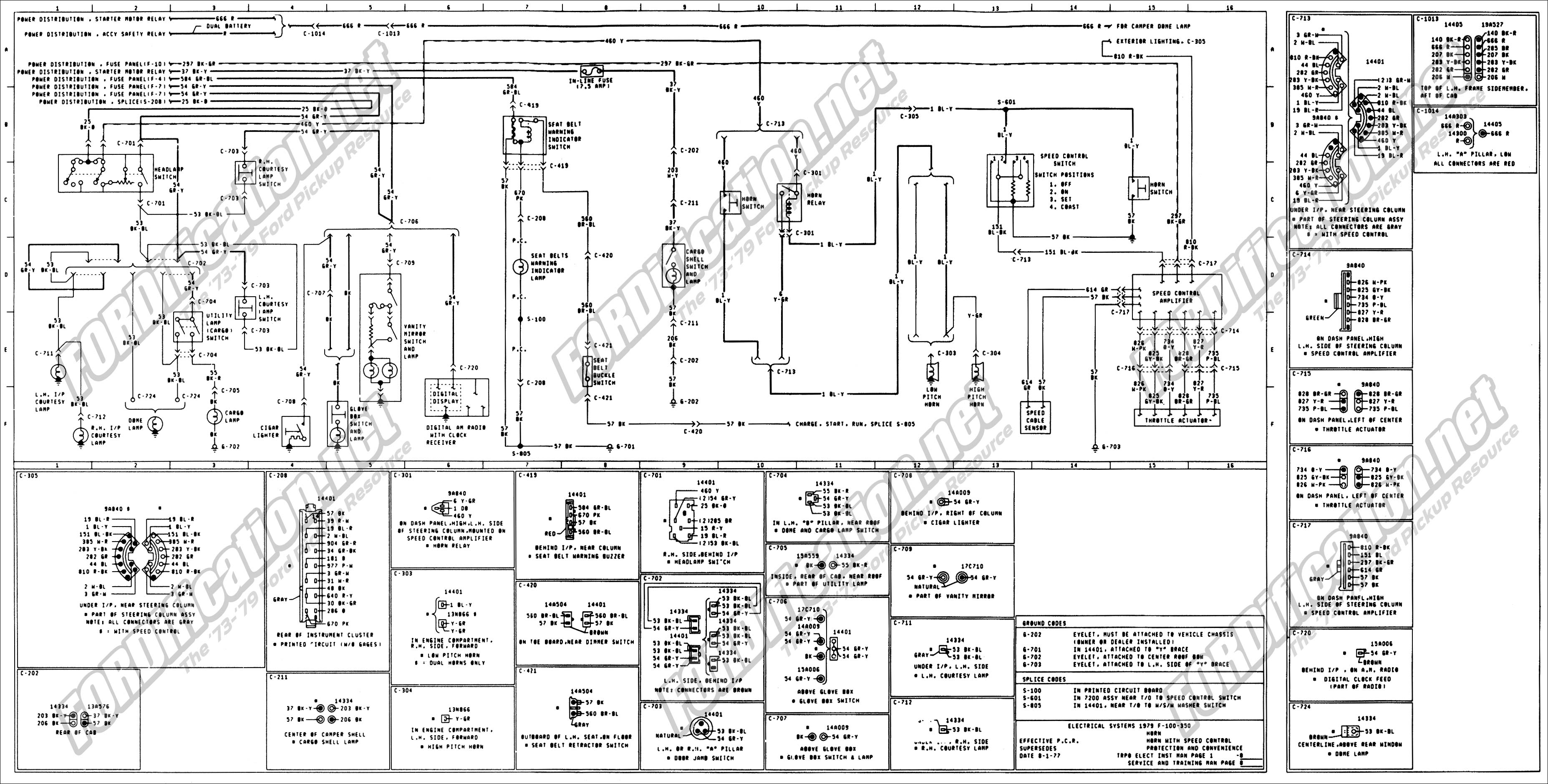 2001 Ford F350 Wiring Schematic