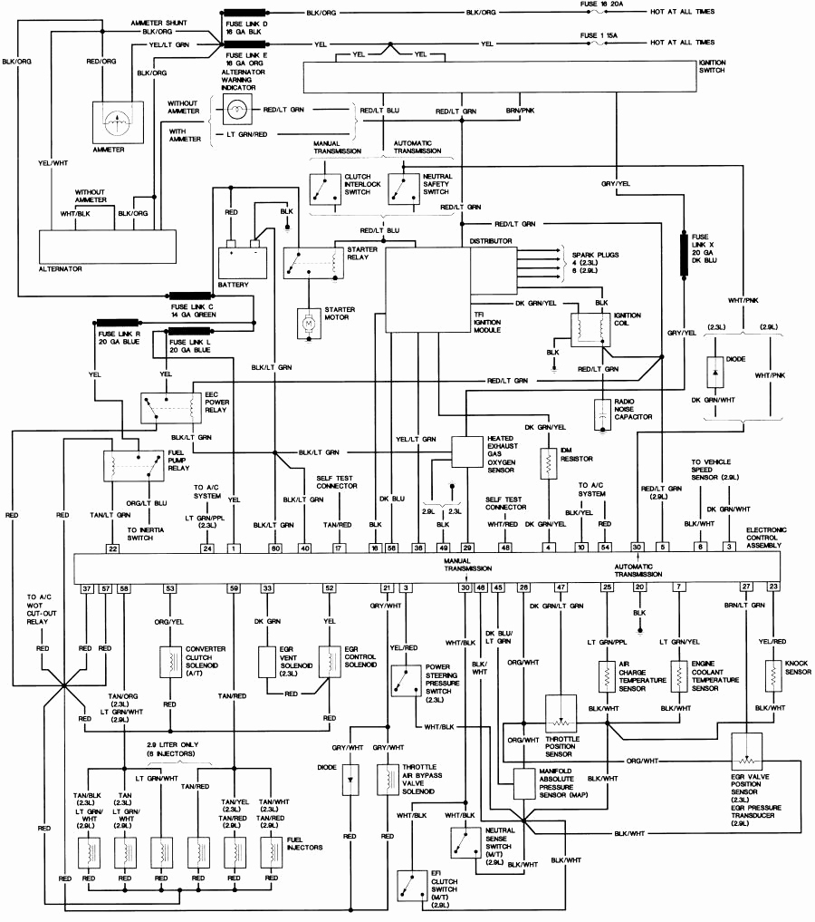 2001 ford ranger wiring diagram pdf Download-1992 Ford Ranger Wiring Diagram Luxury 1985 Ford Ranger Stereo Wiring Diagram 1985 Ford Ranger Wiring 17-k