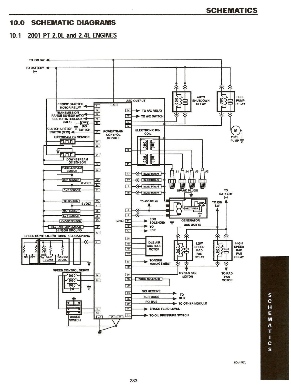 2001 Pt Cruiser Wiring Diagram | Free Wiring Diagram