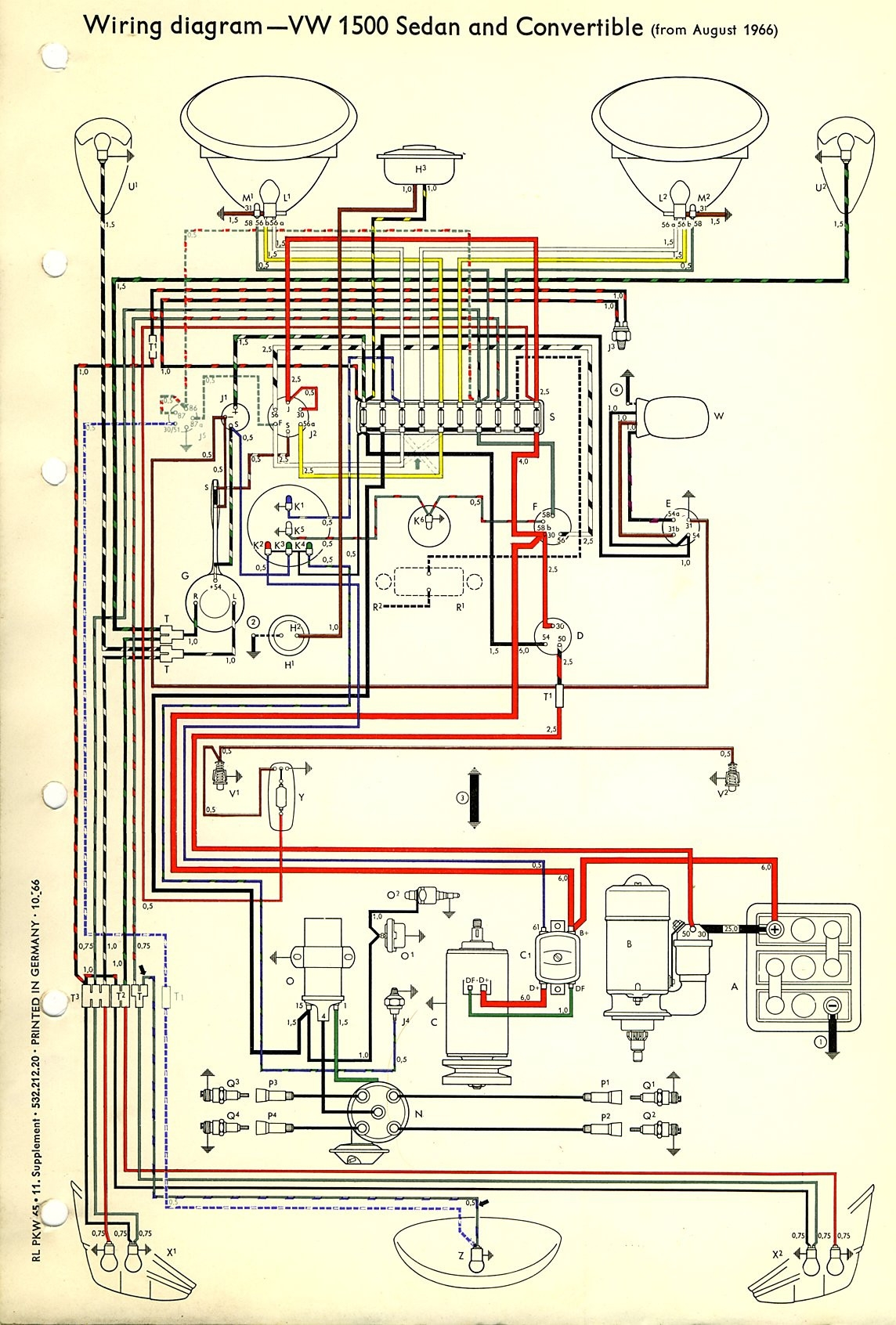 2001 Vw Beetle Wiring Diagram