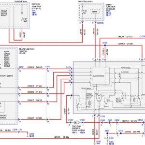 2002 ford Escape Radio Wiring Diagram | Free Wiring Diagram Ac Wiring Diagram Ford Escape on