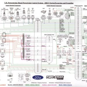 2002 ford Excursion Wiring Diagram - 1999 ford F350 Wiring Diagram Me within 2002 F250 16r