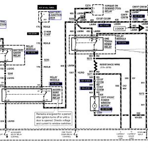 2002 ford Explorer Wiring Diagram - 2002 ford Explorer Wiring Diagram Download 2003 ford Explorer Window Wiring Diagram 8 H 17b