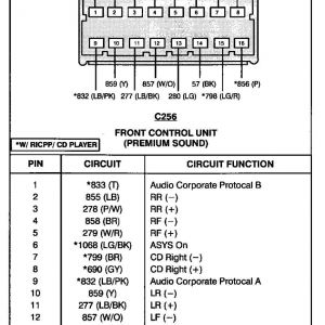 2002 ford F250 Radio Wiring Diagram - 2002 ford Escape Radio Wiring Diagram In Template Arresting and Unbelievable Windstar 12 9f