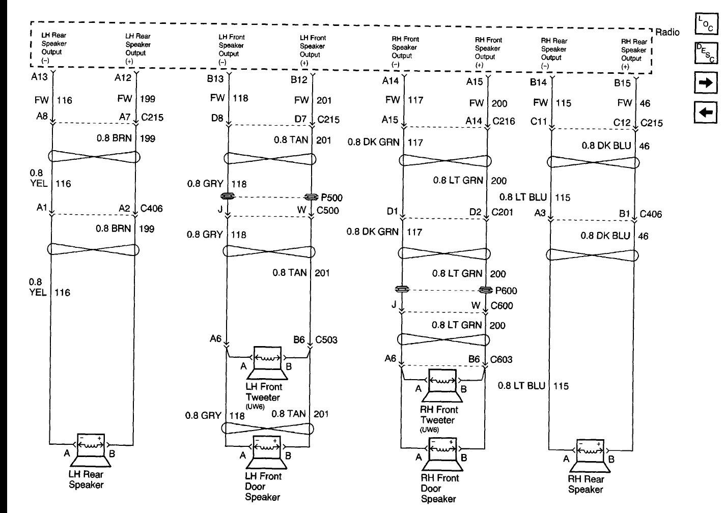2003 Buick Century Radio Wiring Diagram Free Wiring Diagram