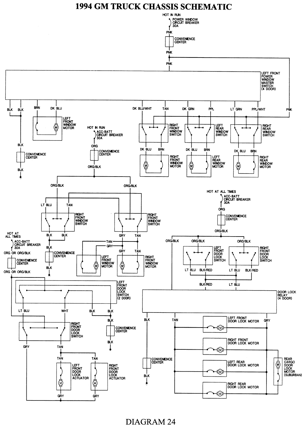 1999 Chevy Suburban Wiring Diagram