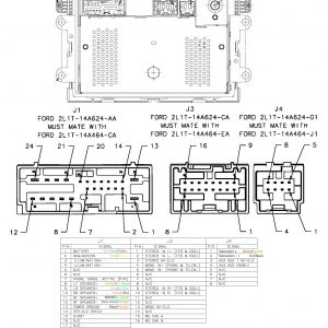 2003 Mustang Radio Wiring Diagram - ford Audio Wiring Diagram at 2001 Mustang Radio 9j