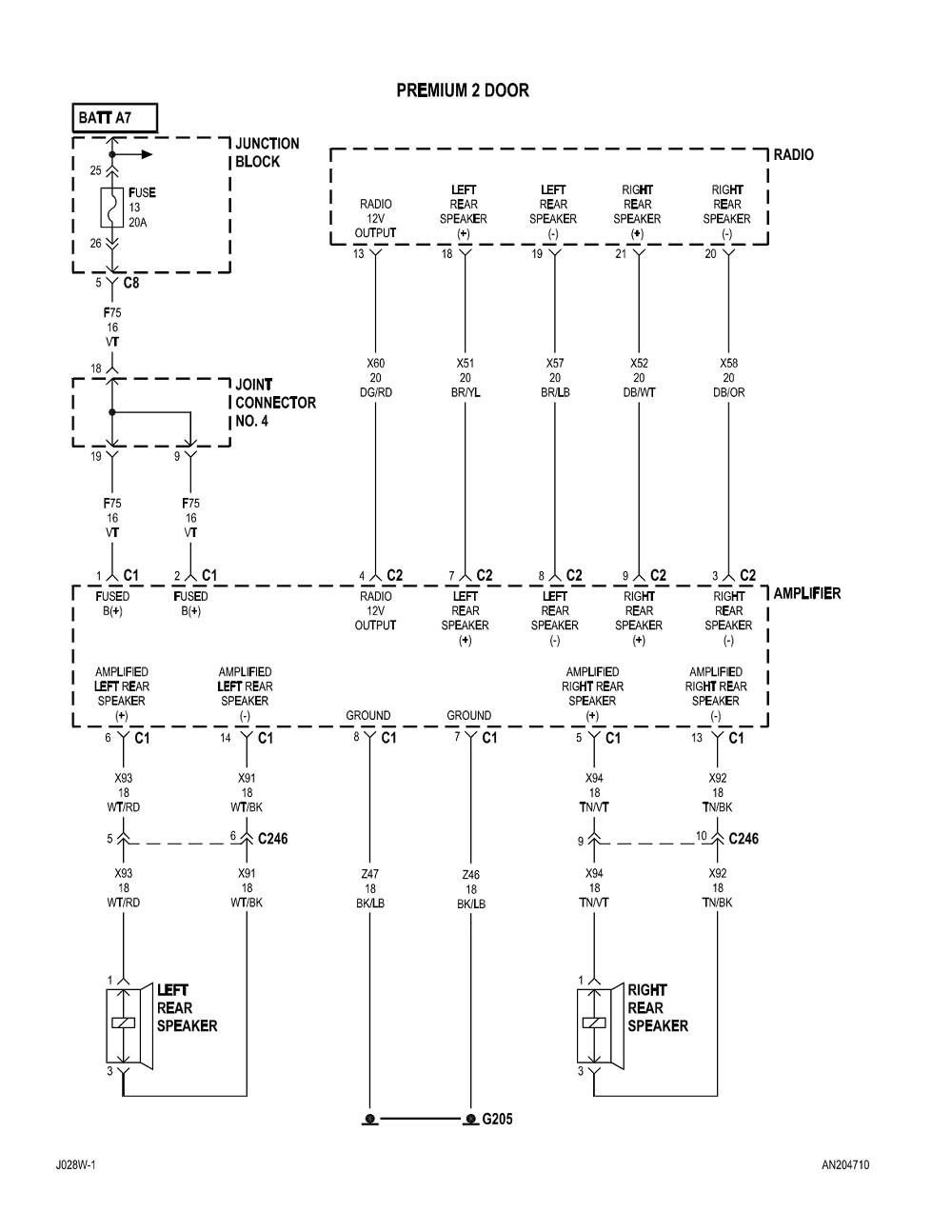 2004 dodge dakota radio wiring diagram Download-2004 dodge dakota radio wiring diagram Collection Labeled 2002 dodge dakota radio wiring diagram 2002 17-p