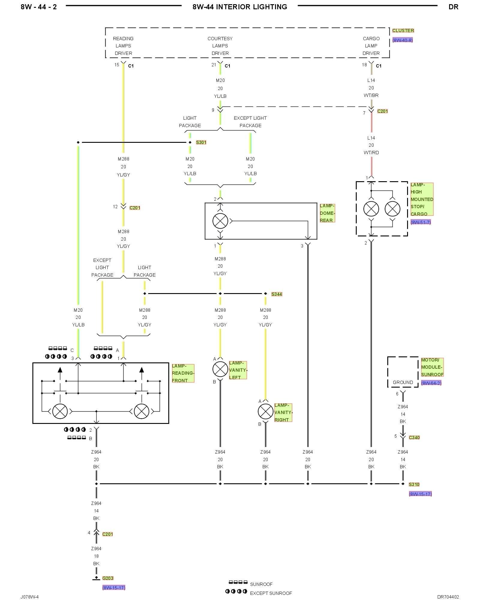 2004 Dodge Ram 2500 Wiring Diagram | Free Wiring Diagram