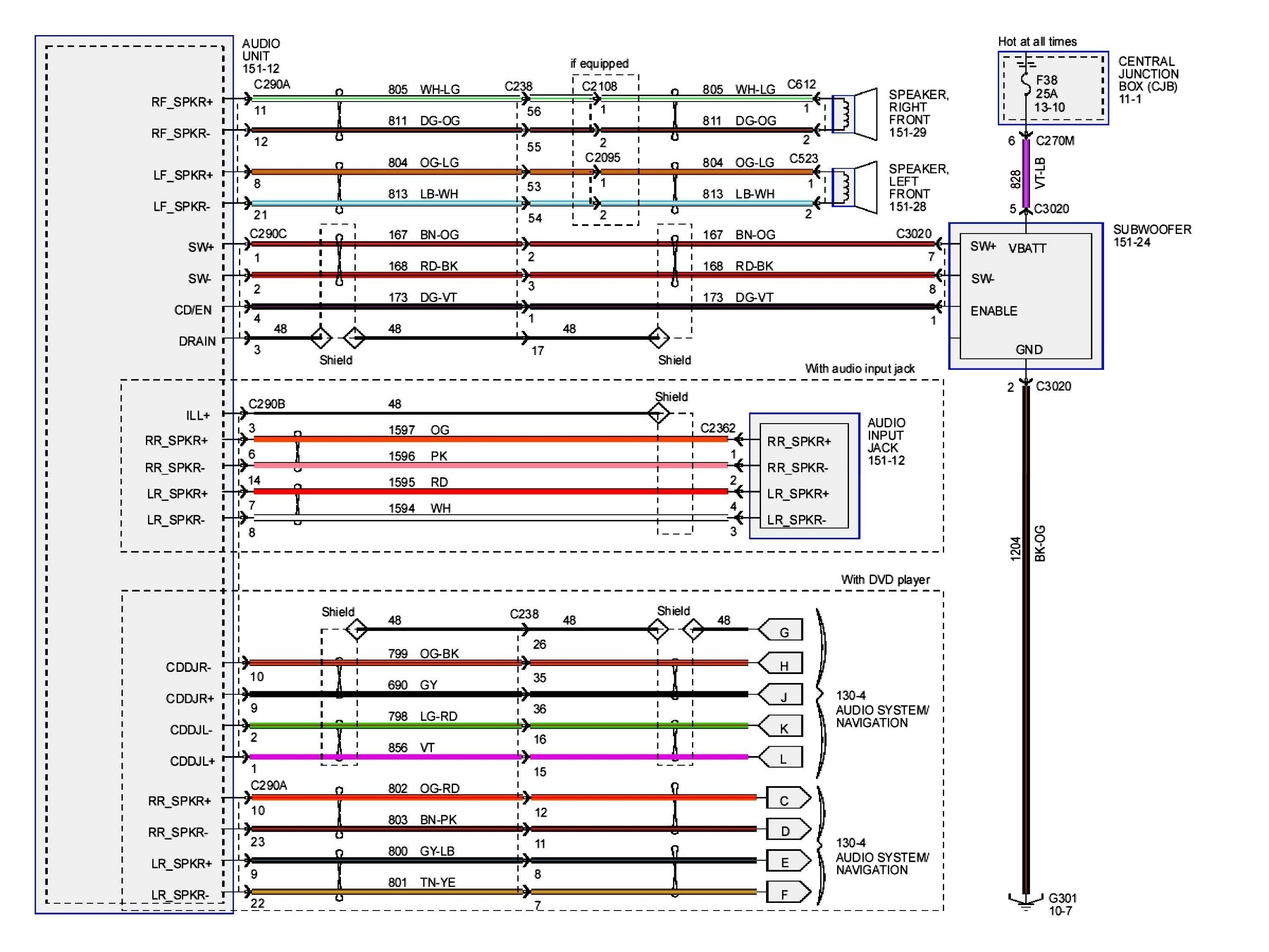 97 Expedition Radio Wiring Diagram