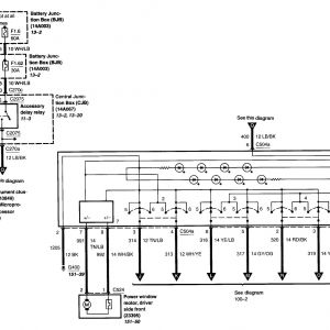 2004 ford Explorer Radio Wiring Diagram - 2003 ford Explorer Wiring Diagram 14o