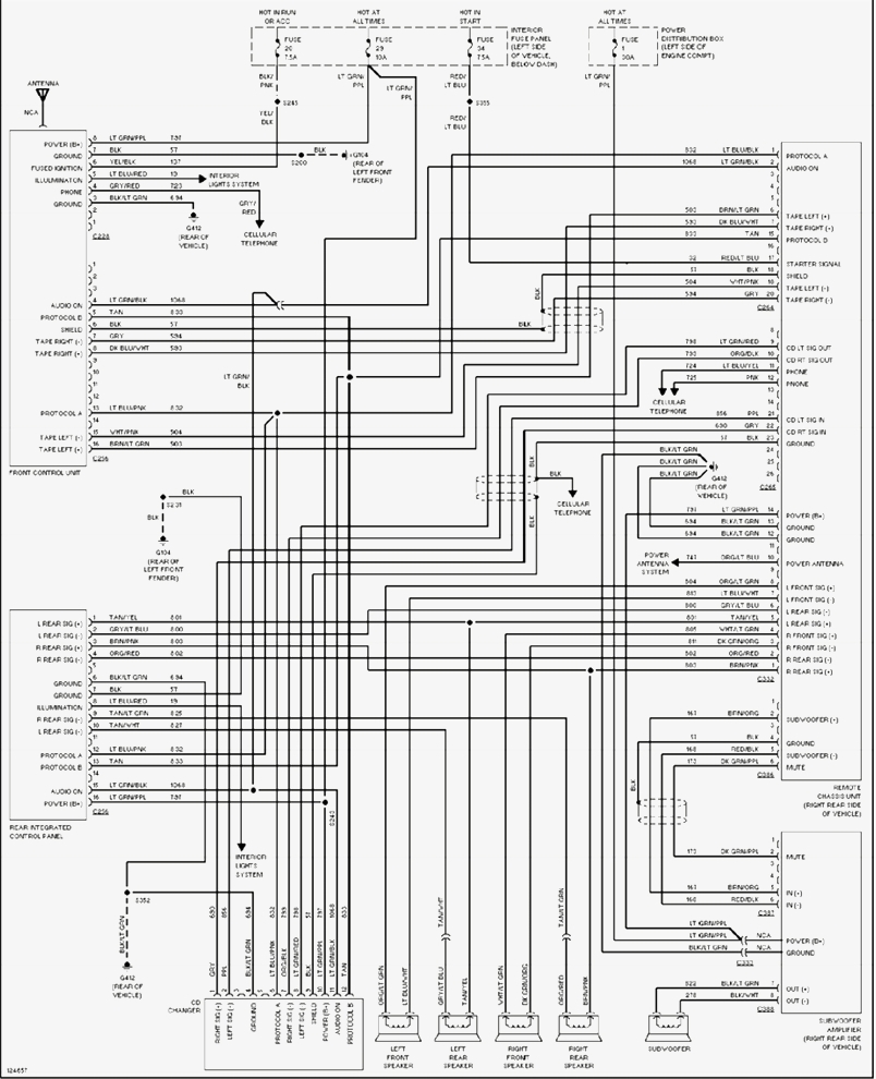 2002 ford explorer xlt radio wiring diagram image 5