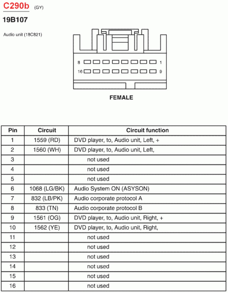 35 New 2006 Ford Explorer Radio Wiring Diagram