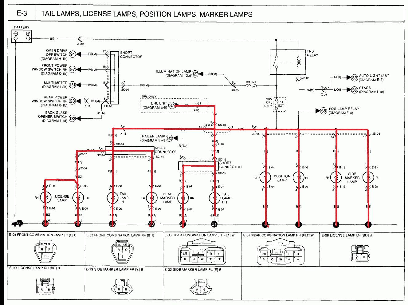 2004 Kia Spectra Radio Wiring Diagram