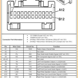 2004 Silverado Bose Radio Wiring Diagram - Bose Factory Radio Wiring Diagram Chevy Wiring Diagram U2022 Rh Growbyte Co 2005 Chevy Impala Radio Wiring Diagram 2005 Chevy Impala Radio Wiring Diagram 7c